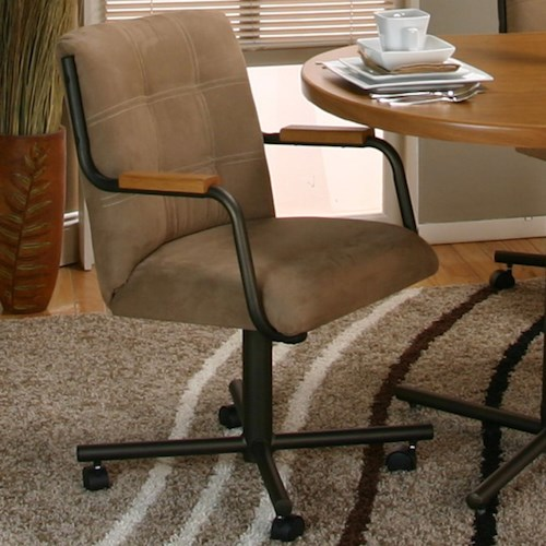 Cramco, Inc Cramco Motion - Dillon  Swivel Chair w/ Upholstery Seat