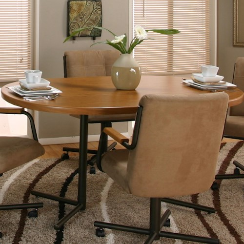 Cramco, Inc Cramco Motion - Dillon  Casual Oval Dinner Table