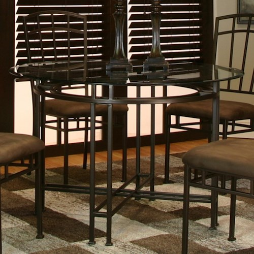 Cramco, Inc Ivana Dining Side Chair w/ Upholstered Seat