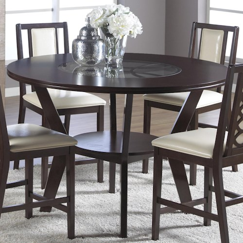 Cramco, Inc Jasmyn Round Counter Height Pub Table