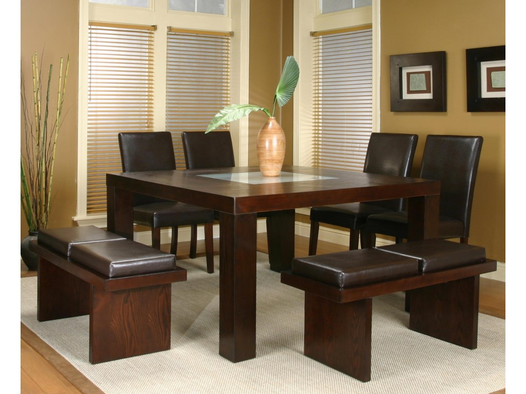Shown with Square Dining Table and Parson's Side Chairs