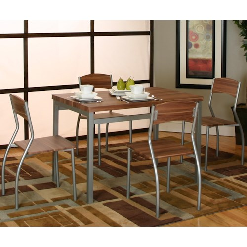 Cramco, Inc Lark 5 Piece Dining Set