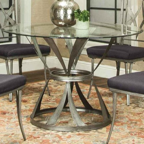 Cramco, Inc Pierce Dining Table with Glass Table Top