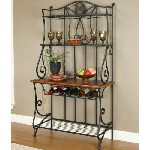 Cramco, Inc Cramco Trading Company - Ravine Dining Room Baker's Rack