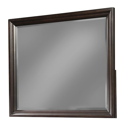 Cresent Fine Furniture Newport Framed Landscape Mirror