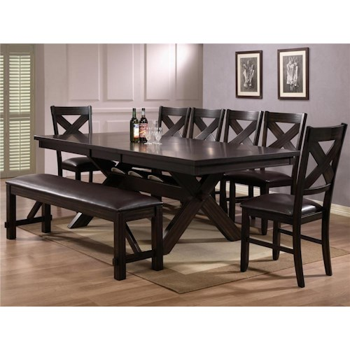 CM Havana 6 Piece Table and Chair Set