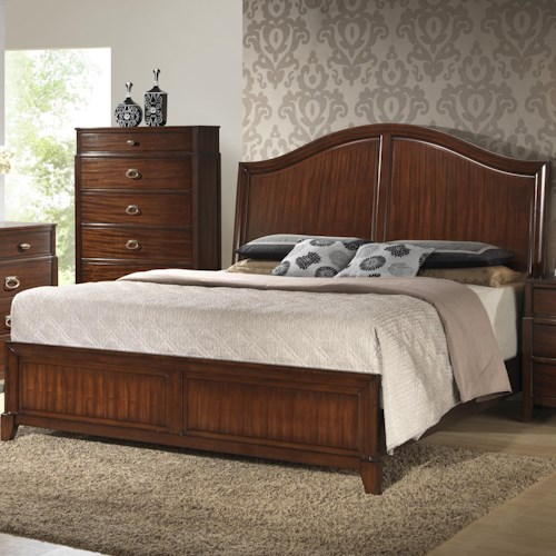 Crown Mark Alma  Transitional King Bed