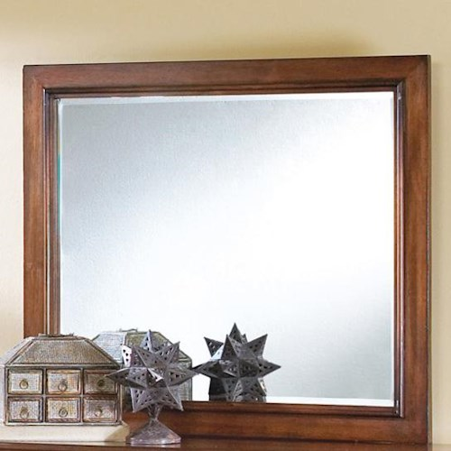 Crown Mark Augusta Landscape Dresser Mirror