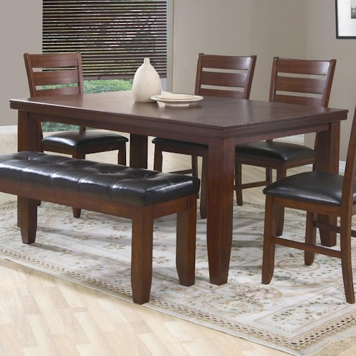 Crown Mark Bardstown Rectangular Dining Table