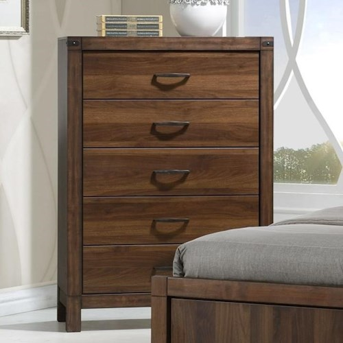 Crown Mark Belmont Rustic Chest of Drawers
