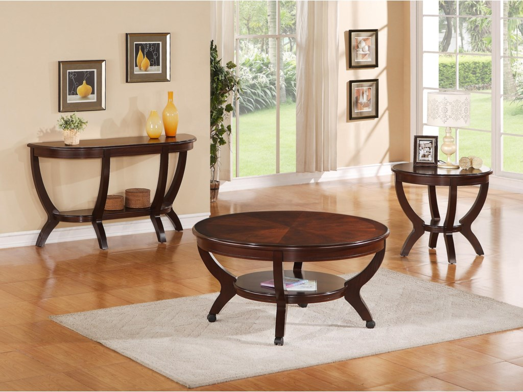 Shown with Sofa & End Tables