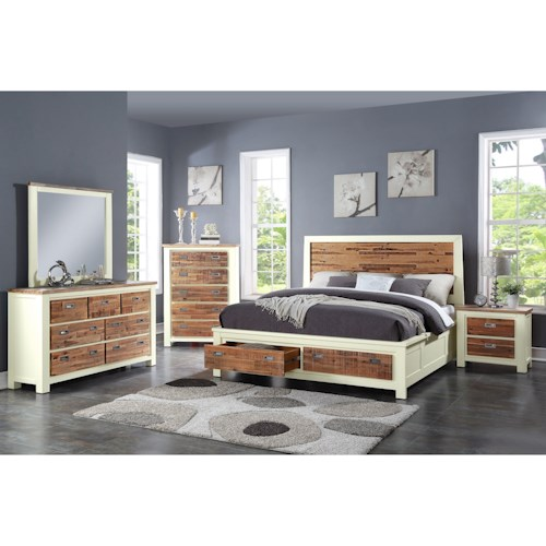 Crown Mark Buckley California King Bedroom Group