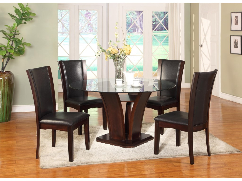 Shown with Espresso Side Chairs