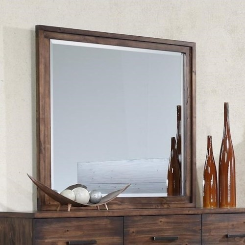 Crown Mark Cranston Beveled Dresser Mirror