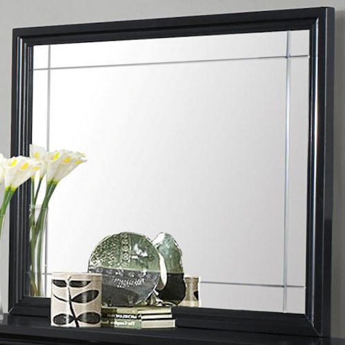 CM Elisa Mirror Mirror with Beveled Accents