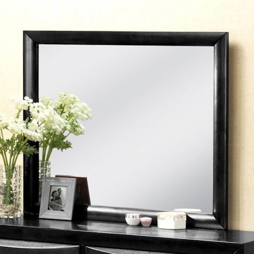 Crown Mark Emily Contemporary Dresser Mirror
