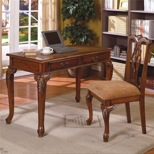 CM Fairfax  Home Office Desk & Chair Set