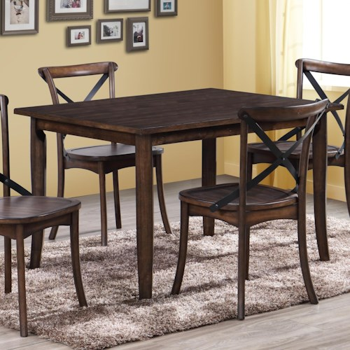 Crown Mark Farris Rectangular Dining Table