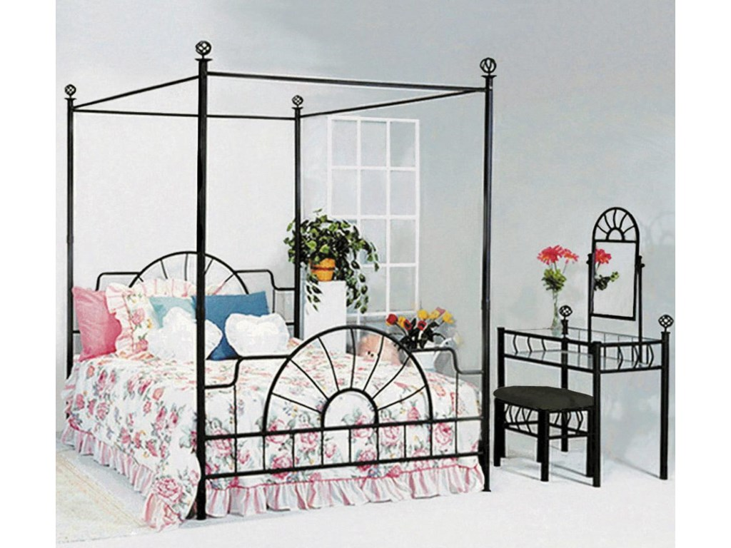 Shown with Coordinating Canopy Bed