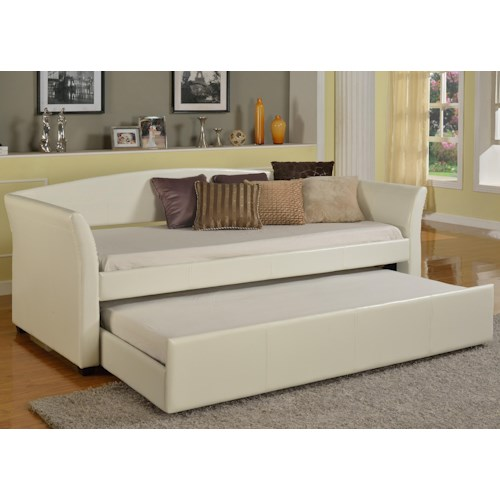 Crown Mark Futons & Daybeds Tranquil Daybed with Trundle