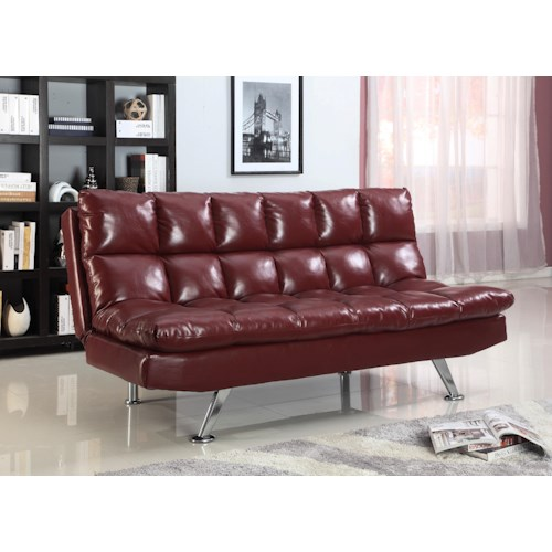 Crown Mark Futons & Daybeds Sundown Adjustable Sofa