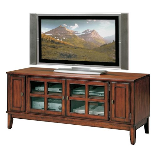 Crown Mark Hawthorne  Entertainment Console with Four Doors