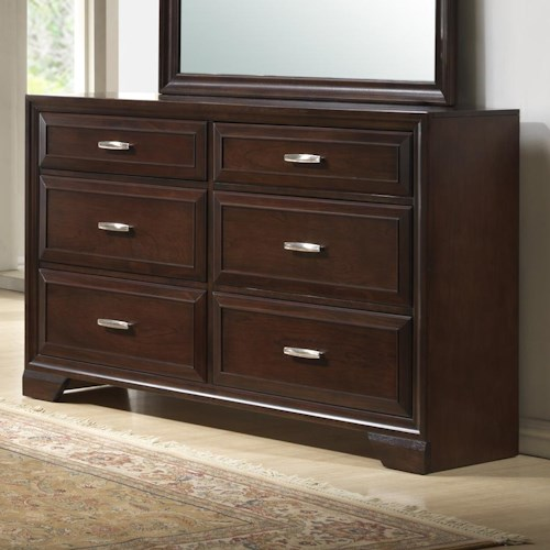 Crown Mark Jacob Drawer Dresser