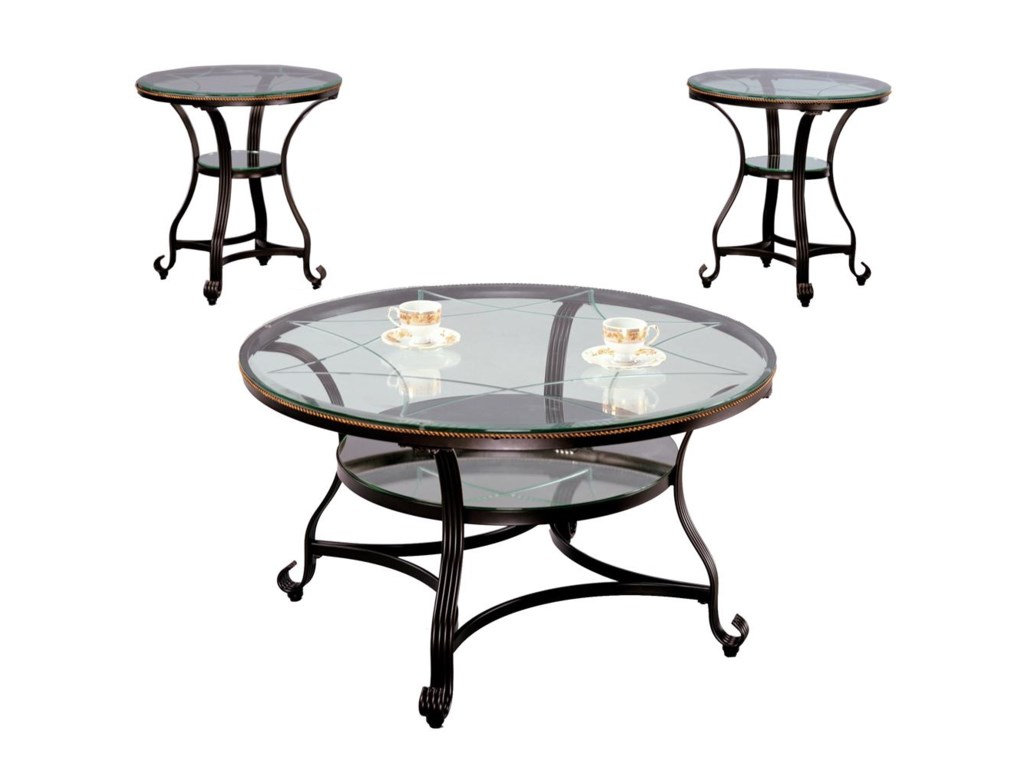 Shown with Two End Tables