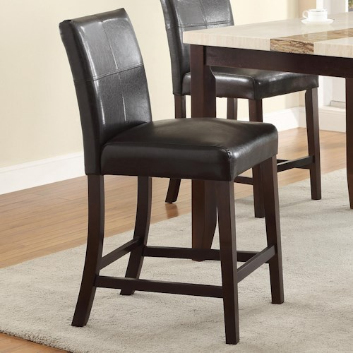 Crown Mark Larissa Upholstered Counter Height Chair