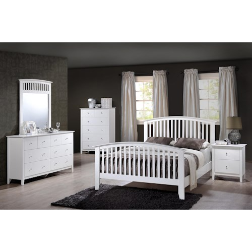 Crown Mark Lawson Twin Bedroom Group