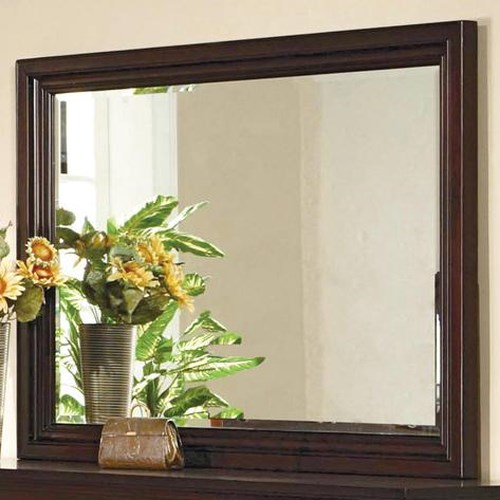 Crown Mark London Landscape Dresser Mirror