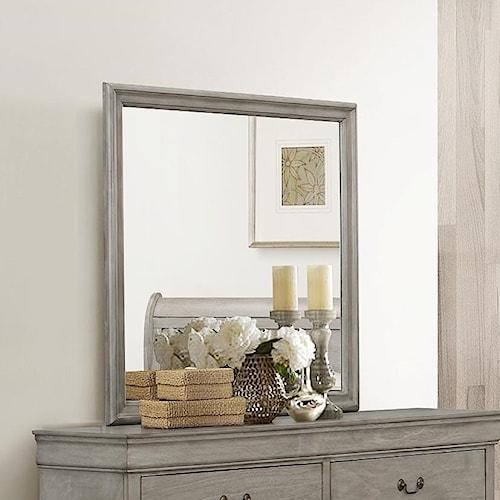 Crown Mark Louis Phillipe Dresser Mirror