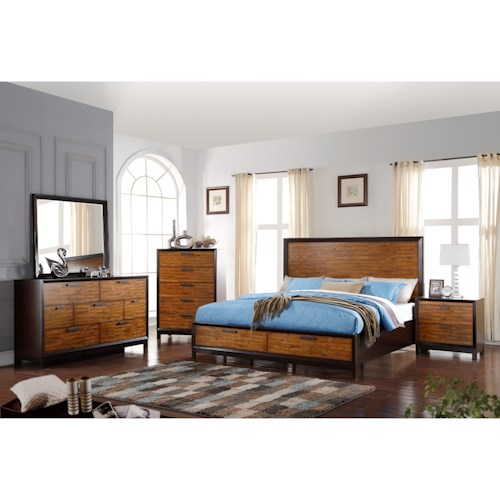 Crown Mark Mumford Queen Bedroom Group
