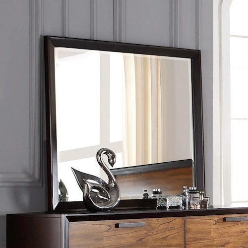 Crown Mark Mumford Beveled Dresser Mirror