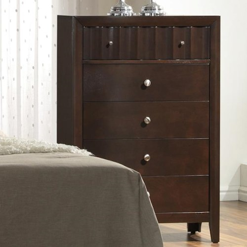 Crown Mark Nadine Transitional Chest of Drawers