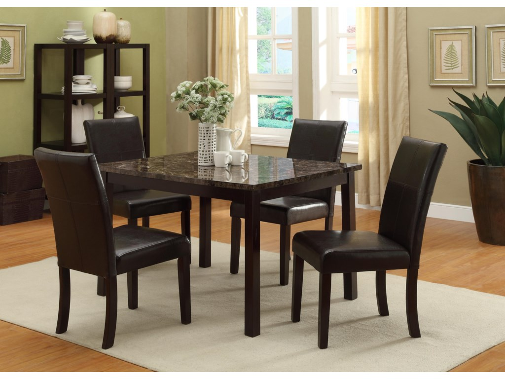 Shown with Dining Table in Room Setting