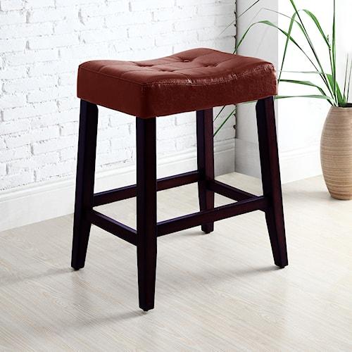 Crown Mark Kent & Portman Saddle Chairs 24