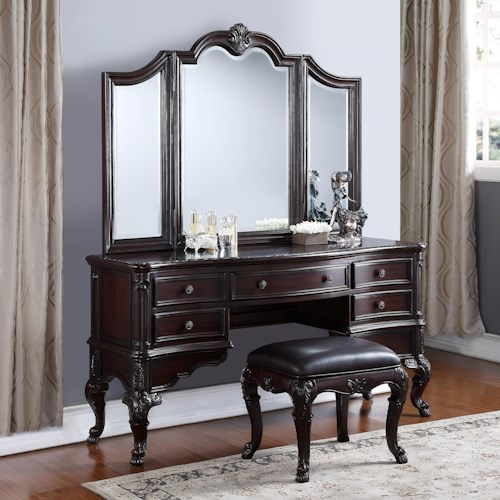 Crown Mark Sheffield Traditional Vanity