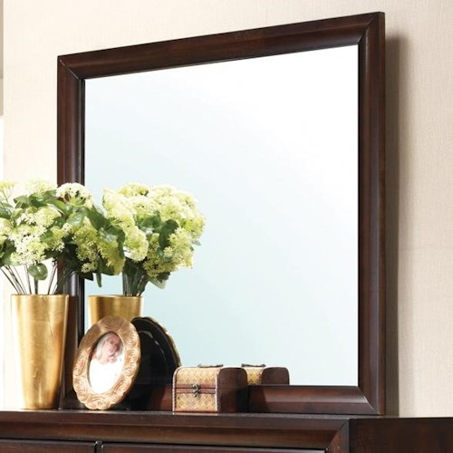 Crown Mark Stella Rectangular Framed Dresser Mirror