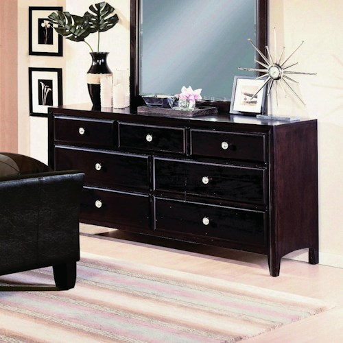 Crown Mark Tomas Contemporary Dresser