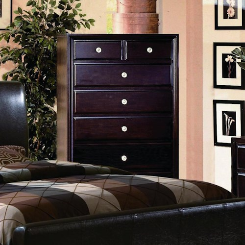 Crown Mark Tomas Contemporary Chest