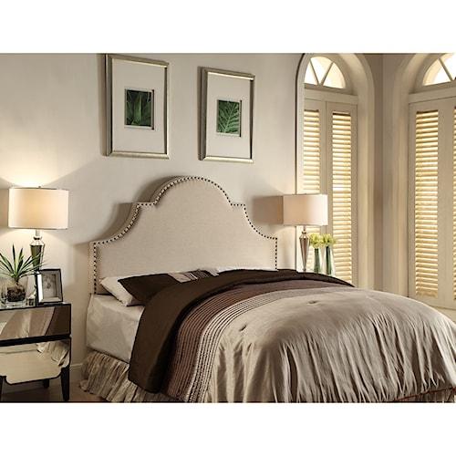 Crown Mark Upholstered Headboards Lenore Full/Queen Upholstered Headboard