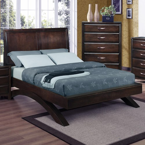 Crown Mark Vera Queen Platform Bed