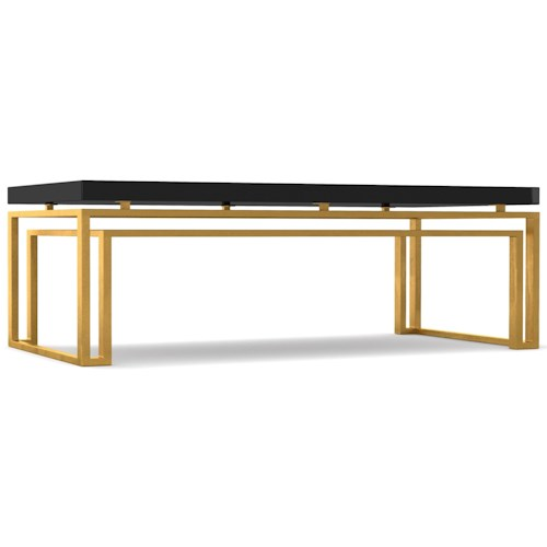 Cynthia Rowley for Hooker Furniture Cynthia Rowley - Curious Serendipity Rectangle Cocktail Table