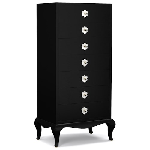 Cynthia Rowley for Hooker Furniture Cynthia Rowley - Curious Belle Semainier Chest