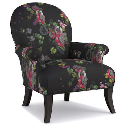 Cynthia Rowley for Hooker Furniture Cynthia Rowley - Curious Upholstery Mimi Wing Chair