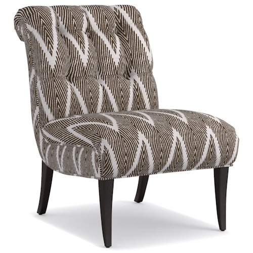 Cynthia Rowley for Hooker Furniture Cynthia Rowley - Pretty Upholstery Perry Chair