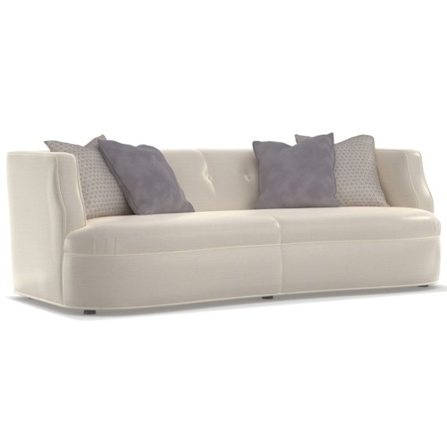 Cynthia Rowley for Hooker Furniture Cynthia Rowley - Pretty Upholstery Windsor Tight Seat Sofa