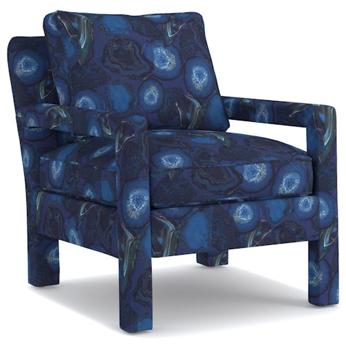 Cynthia Rowley for Hooker Furniture Cynthia Rowley - Sporty Upholstery Ryder Chair