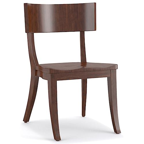 Cynthia Rowley for Hooker Furniture Cynthia Rowley - Sporty Scoop Wood Klismos Chair